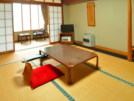 8-tatami mat Japanese room with toilet (Main Building)